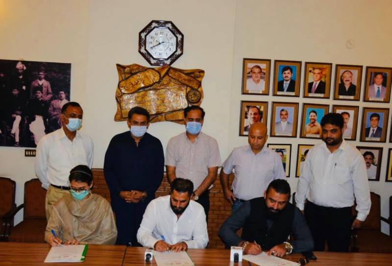 PHA Lahore, SA Group sign MoU to develop Urban Forests