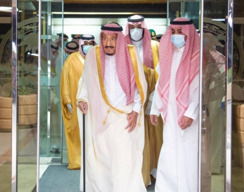 Saudi King Salman tweets Eid greetings after leaving hospital