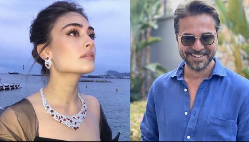 'Ertuğrul' stars Engin Altan Düzyatan & Esra Bilgic wish Eid Mubarik to Pakistan