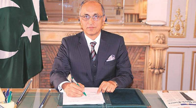 Moinul Haque assumes charge as new Pakistani envoy to China