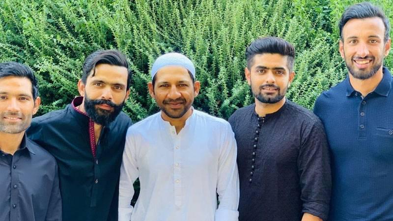 Pakistan cricket team sends Eid greetings to fans