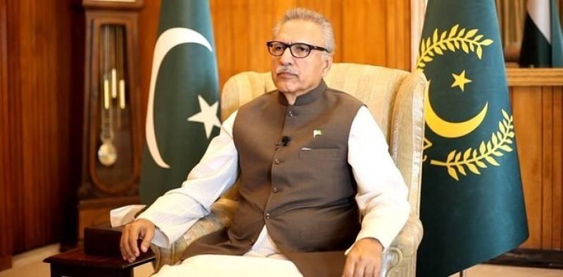 President Alvi for remembering poor, needy during Eid celebrations