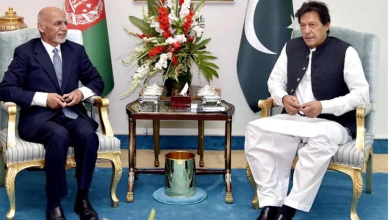 Afghan President Ghani phones PM Imran, discusses peace talks, Covid-19