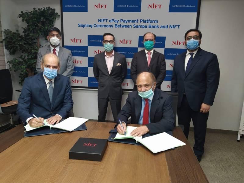 Samba Bank signs NIFT ePay agreement