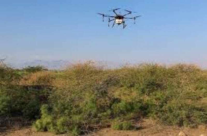 China to provide 38 more drones to Pakistan to fight locust