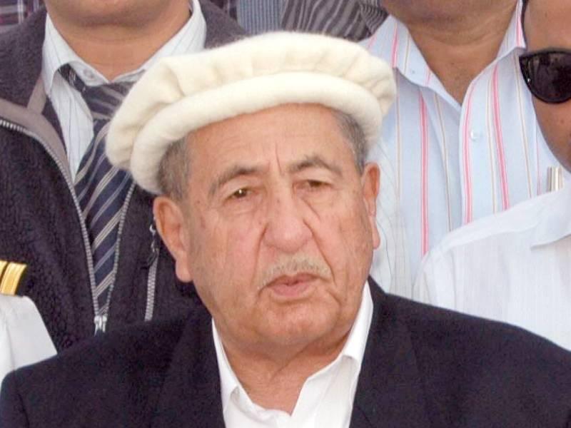 Ex-GB governor Syed Pir Karam Ali Shah dies at 86