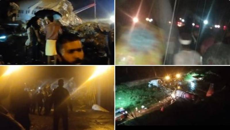 16 dead as Air India passenger plan skids off runway, splits into two