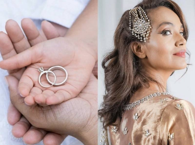 Another quarantine wedding? Amina Sheikh announces a new chapter in her life