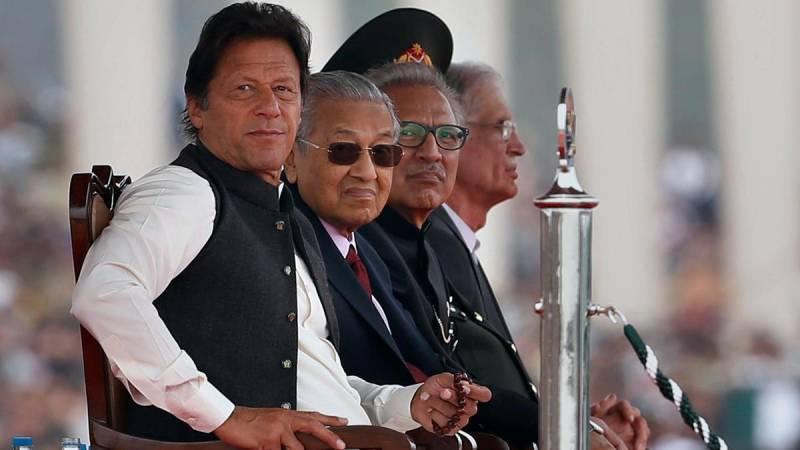Pakistan PM thanks Malaysia's Mahathir for pro-Kashmir remarks