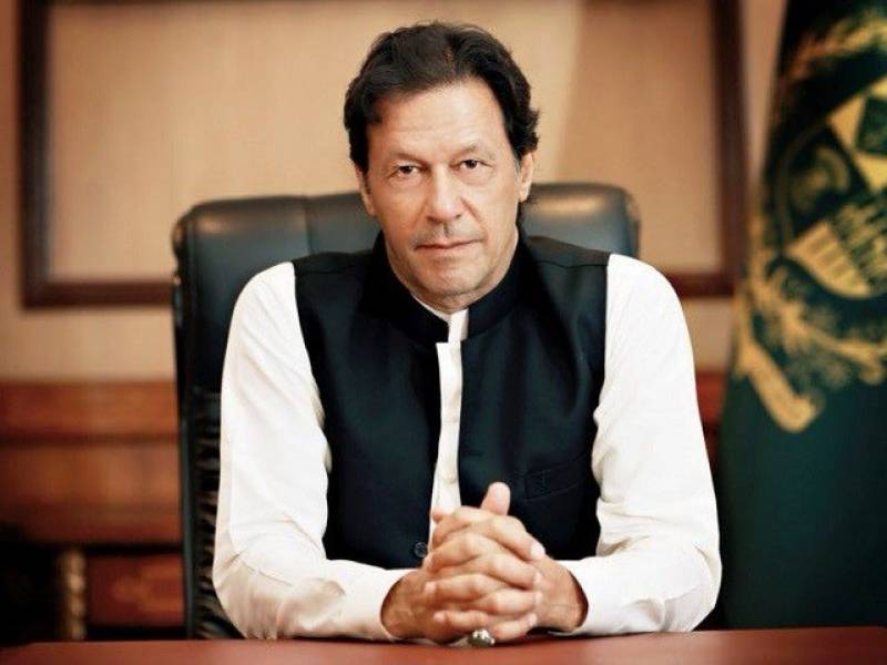 PM Imran expresses grief over loss of lives in Indian plane incident