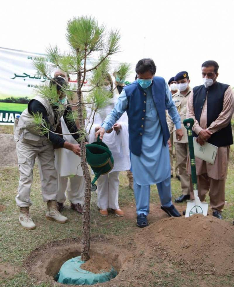 PM Imran asks Pakistanis to join biggest ever tree plantation drive