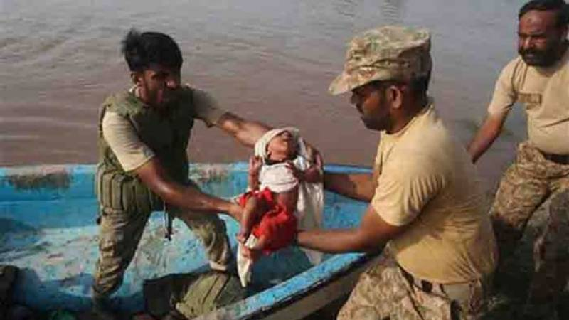 Pakistan Army continues rescue, relief activities in Dadu