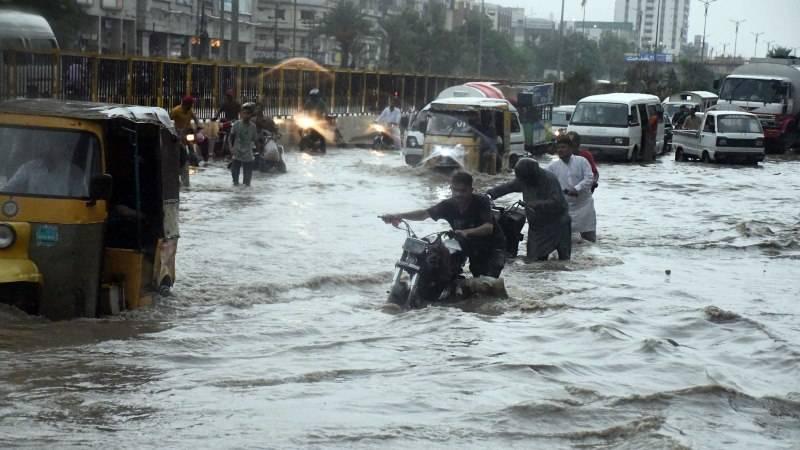 50 dead as heavy monsoon rains lash parts of Pakistan