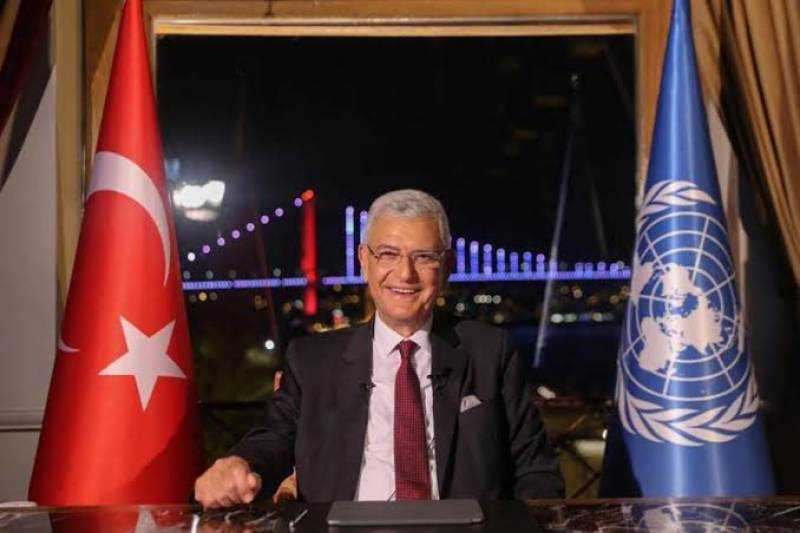 Incoming UNGA president due in Pakistan today