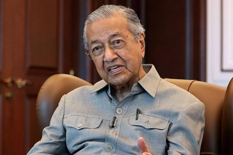 Mahathir urges Int'l community to take notice of HR situation in IIOJK