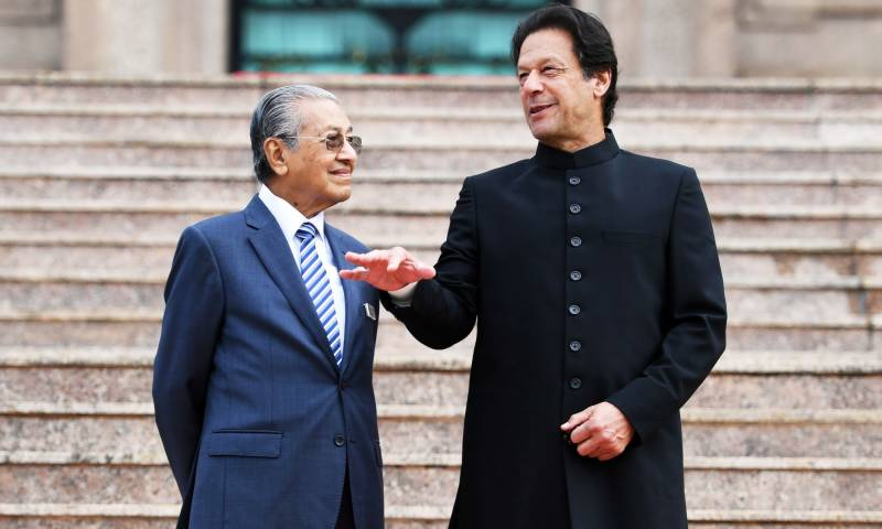 PM Imran thanks Mahathir for supporting Kashmir against Indian repression in IIOK