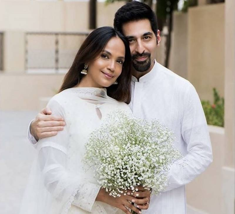 Amina Sheikh ties the knot, shares pictures with husband