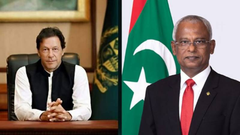 PM Imran, Maldives President discuss challenges posed by coronavirus