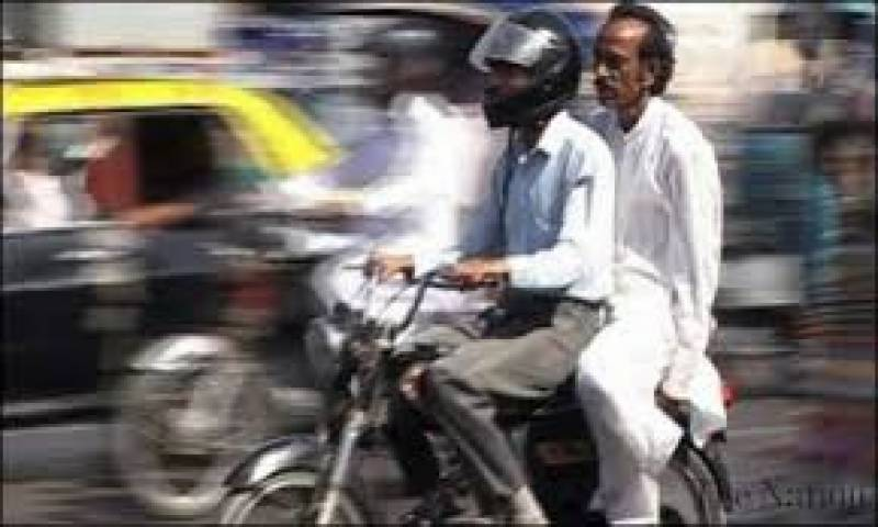 Sindh decides to continue ban on pillion riding