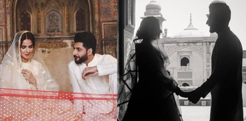 Bilal Saeed and Saba Qamar's Qubool released