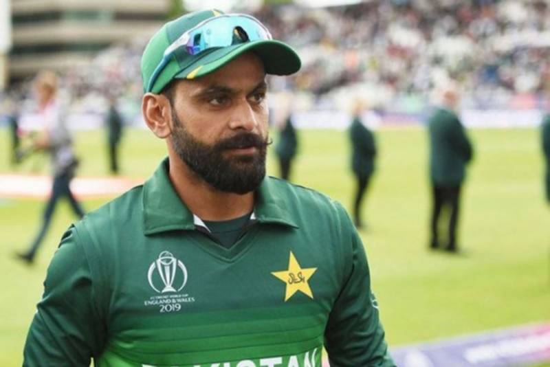 Hafeez quarantined in England for taking photo with 90-year-old lady in golf course