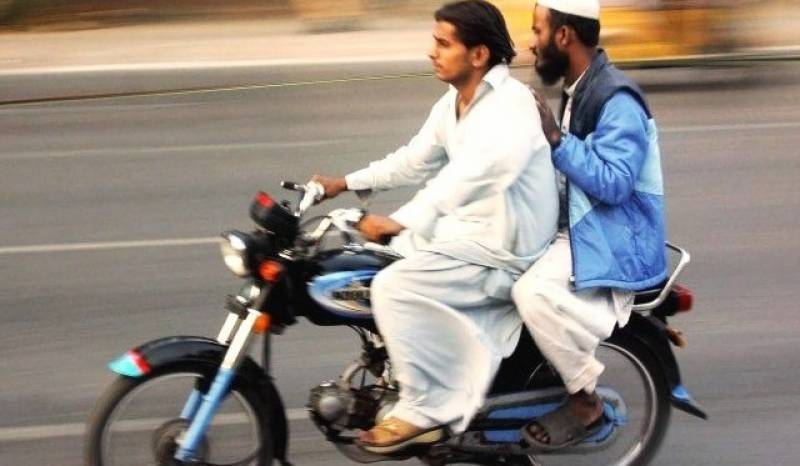 Pillion riding banned in Sindh on Muharram 9, 10