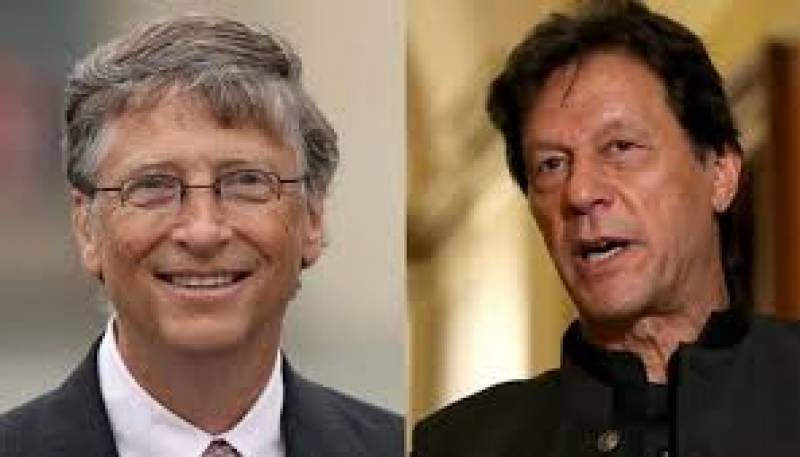PM Imran, Bill Gates discuss latest COVID-19 situation, resumption of Polio vaccination drives in Pakistan