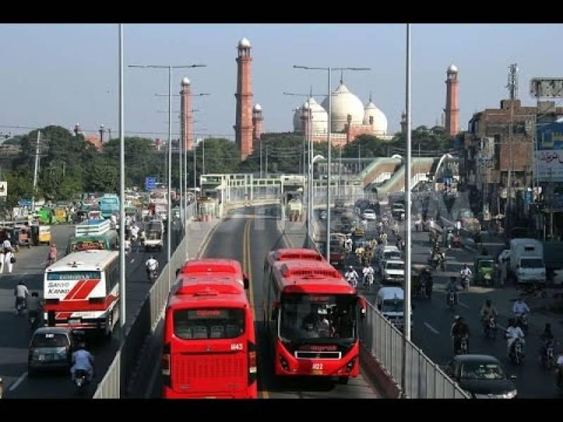 Punjab resumes metro bus service in Lahore