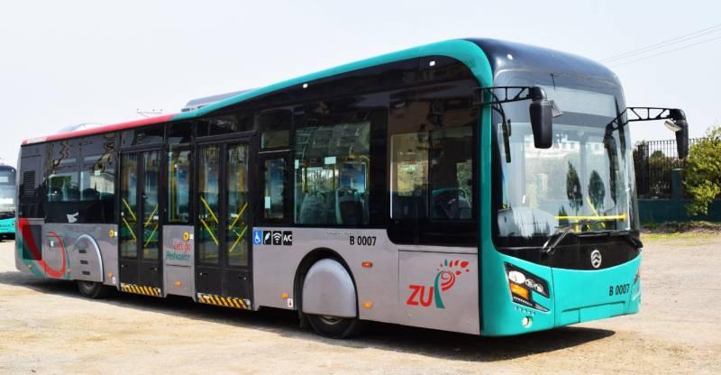 PM Imran inaugurates Peshawar's Bus Rapid Transit