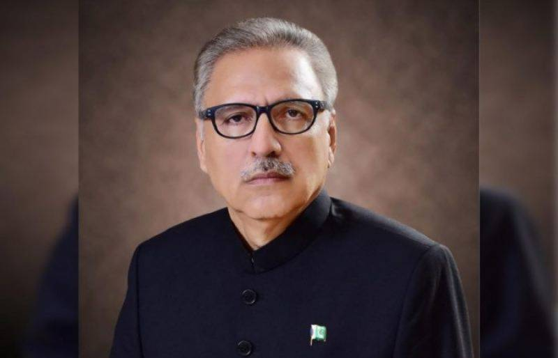 President Arif Alvi urges nation to remain steadfast