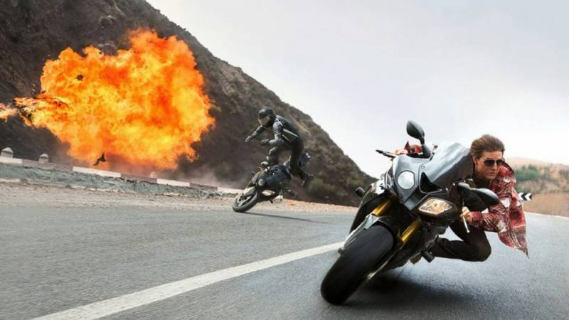 Mission: Impossible 7 halted after motorcycle stunt goes wrong