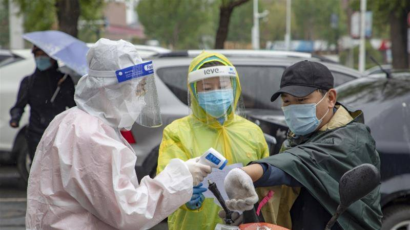 China registers 19 new COVID-19 cases within 24 hours