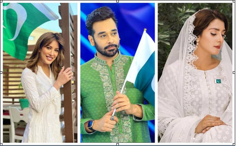 Here's how Pakistani celebs dressed up to celebrate 14th August