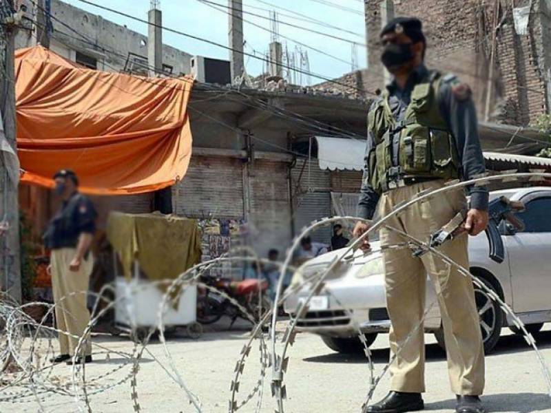 Micro-smart lockdown in 6 localities of Peshawar