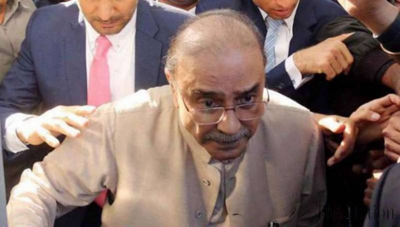 Zardari appears before Accountability Court today in Toshakhana reference case
