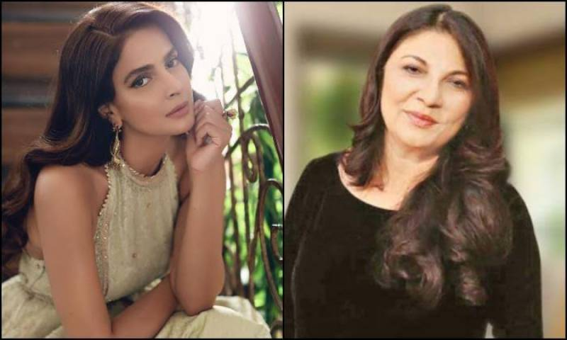 Sakina Samo comes out in support of Saba Qamar after 'Qabool' controversy