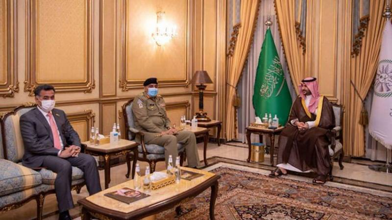 Pakistan Army chief, Saudi prince discuss regional security