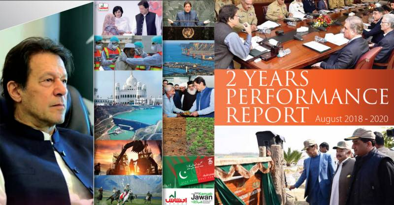 Pakistan's ruling PTI unveils two-year performance report