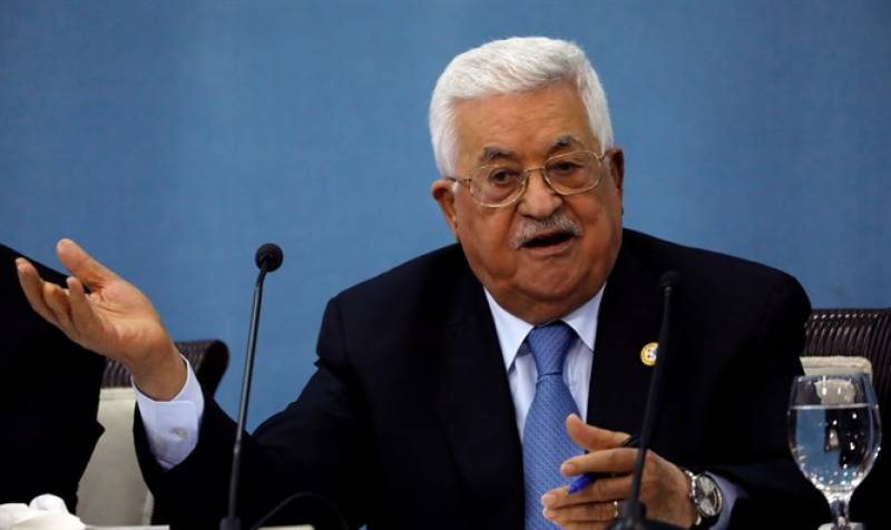 Palestinian President urges all Arab countries to abide by Arab Peace Initiative