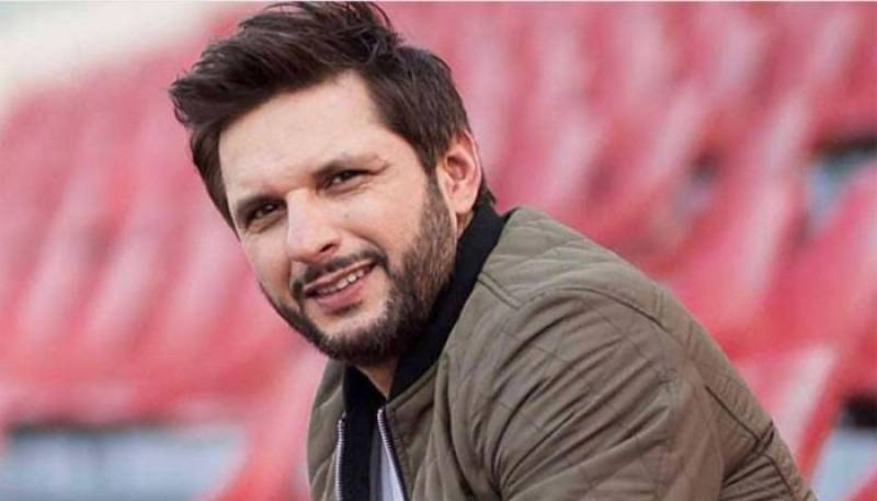 Shahid Afridi to restore KP public library with help of his foundation