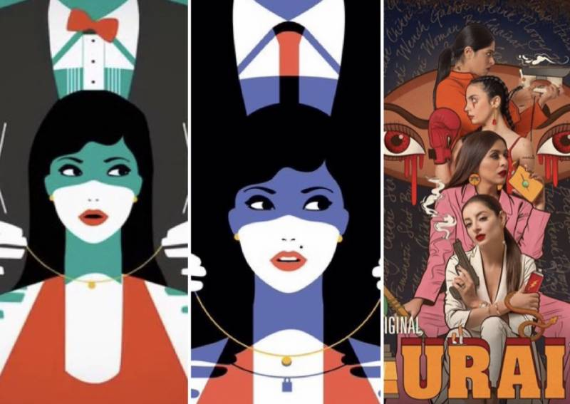 Asim Abbasi's 'Churails' accused of copying illustration by French artist