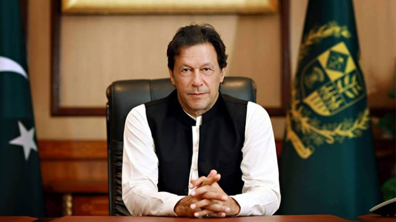 Pakistan's economy finally on right track, says PM Imran