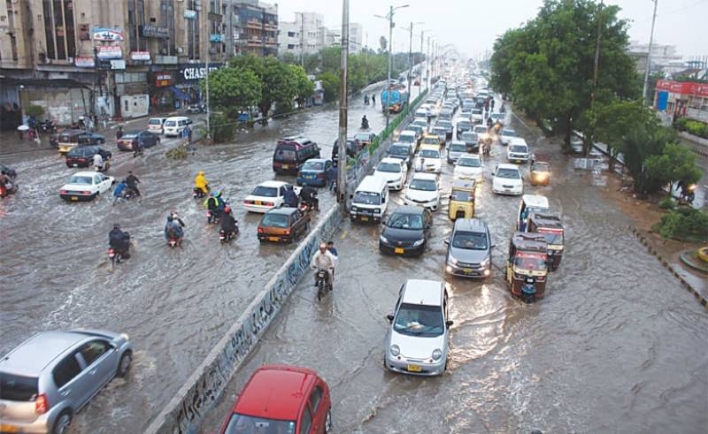Heavy rain forecast for next two days in Karachi