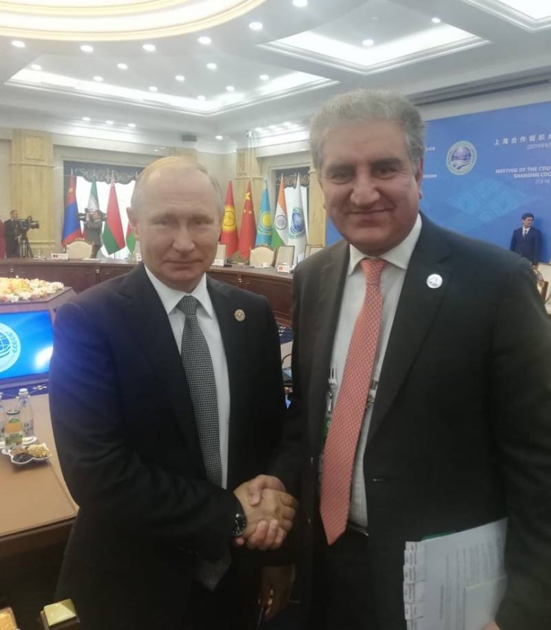 Pakistan FM plans to attend SCO meeting in Russia