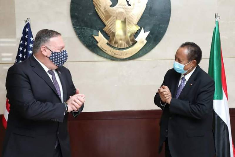 Pompeo in Sudan on first visit by US top diplomat in 15 years