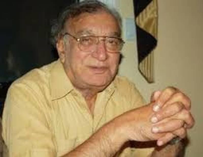 Progressive poet Ahmad Faraz's remembered on his 12 death anniversary today