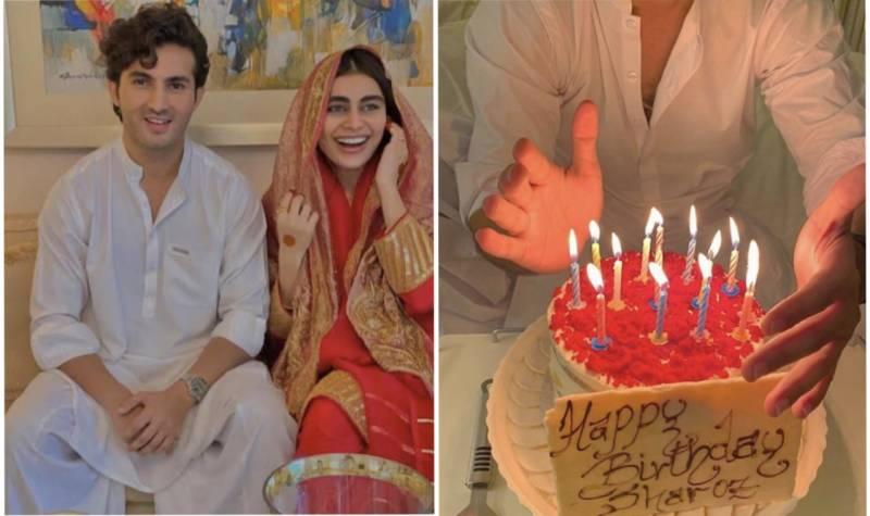 Sadaf Kanwal wishes her 'soulmate' Shahroz Sabzwari on birthday
