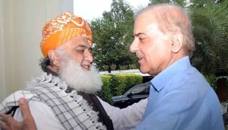 Shehbaz, Fazl agree to run movement against PTI; soon to call APC