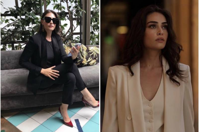 Bold & Beautiful: Esra Bilgic suits up in recent Instagram post