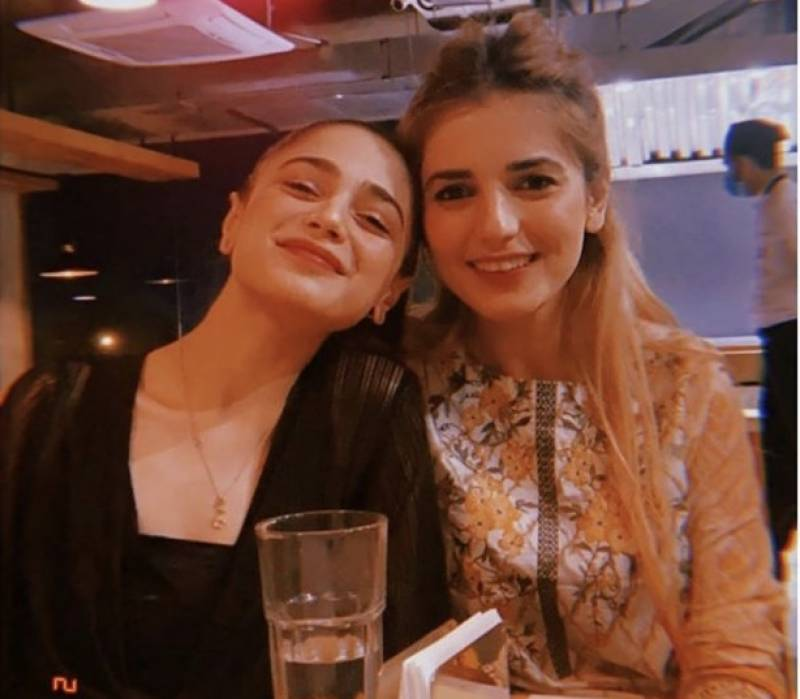 Momina Mustehsan, Aima Baig giving us major best friend goals in recent picture together